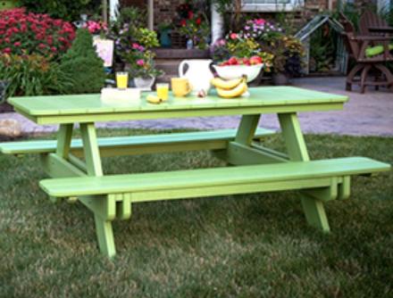 Wondrous Berlin Gardens Picnic Tables Benches Rockers Dailytribune Chair Design For Home Dailytribuneorg